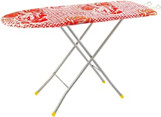 Flipzon Self Standing Ironing Board with Folding Feature, Multi Color