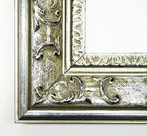 Real Wood – Mirror Mirror – Chateau Silver 7.3 – External Dimensions 30 x 50 cm Wall