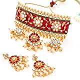 Sukkhi Gold Plated Jewellery Set for Women (N72836GLDPJ042018)