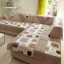 Decoracion de muebles, BaZhaHei, Sofá de terciopelo de algodón de invierno Funda de toalla