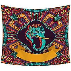 Tapestry El Material de poliéster del patrón de Buda de Dios del Tapiz Puede usarse como Mantel o Toalla de Playa (Color : A, Size : 200cm*150cm)