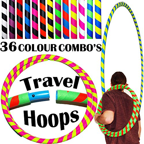 ultra-grip-pro-hula-hoops-100cm-39-uv-weighted-travel-hula-hoop-hula-hoops-for-exercise-dance-fitnes