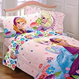 5 Piece Full Size Frozen Bedding Set Includes 4pc Full Sheet Set And T/Full Comforter by Disney best price on Amazon @ Rs. 18343