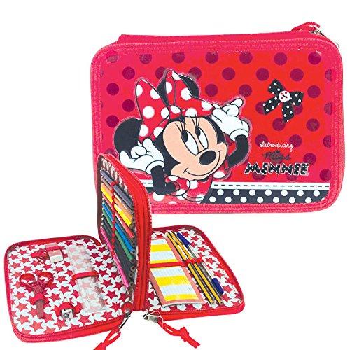 Minnie mouse doble cremallera Estuche
