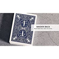 SOLOMAGIA Bicycle Maiden Marked Playing Cards (Blue)