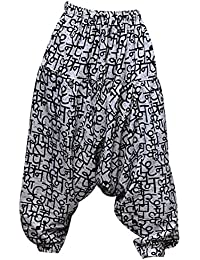 Aethon Creations Unisex Printed Casual Lightweight Cotton Harem Pant