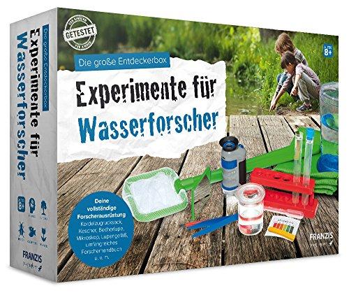 Die große Entdeckerbox: Experimente für Wasserforscher par Bärbel Oftring