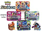 #5: Kingwell™ Pokemon cards packs New 2018 Steam Siege Series Trading Card Game With Metal Box For Kids