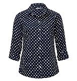 Street One Gepunktete Basic Bluse Naomi Damen 119625