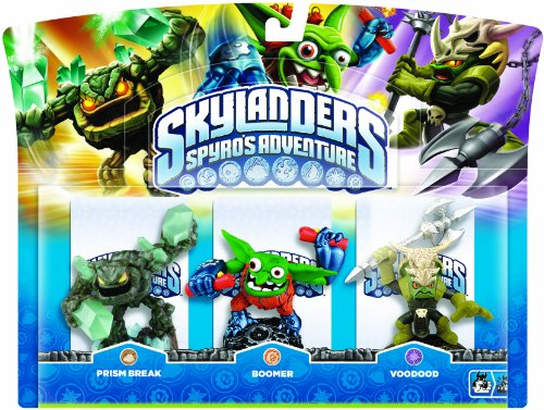 Skylanders - Triple Pack B: Voodood, Boomer, Prism Break