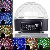 PMS Disco DJ Lampe Magique Boule LED RGB Lumiere Effet Musique Multicouleur Projecteur Eclairage