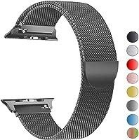 VIKATech Compatible Cinturino per Apple Watch Cinturino 44mm 42mm 40mm 38mm, Cinturino Orologio Bracciale in Acciaio...