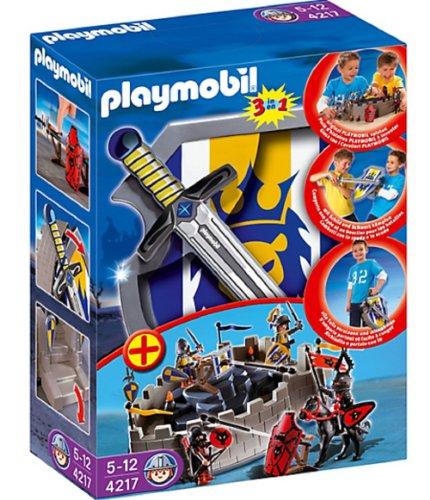 Preisvergleich Produktbild PLAYMOBIL® 4217 - Mitnehm-Ritterfestung mit Schild und Schwert