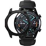 SIKAI Bumper Cover for Huawei Watch GT 2 46mm Smart Watch Anti-Scratch Shockproof Protective TPU Case Skin for Huawei Watch G
