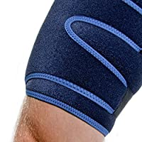 66fit Thigh and Hamstring Support - Medical Sports Injury Sprain Pain Relief Brace