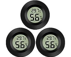 Thlevel Mini Digital LCD Thermomètre Hygromètre Température Humidité -50~70℃ 10%~99% RH Thermomètre Portable Thermo Hygromètr