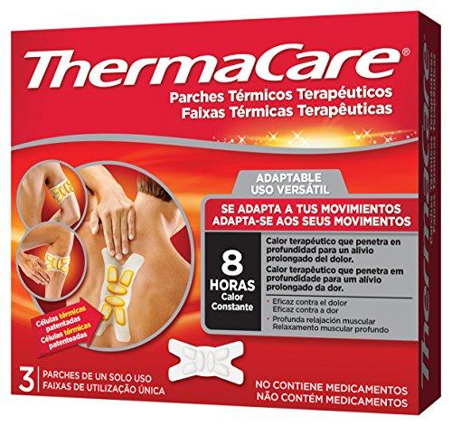 Thermacare, Parche Térmico Terapéutico Adaptable - 3 Unidades