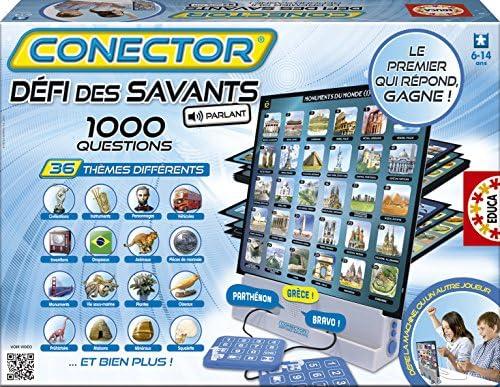 Educa - 15506 15506 15506 - Jeu de Connaissance et Questions-Réponses - Le Défi des Savants Sonore B00E0OS8WE 762ac4