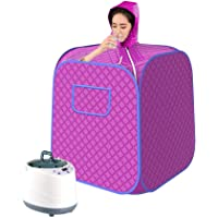 ETE ETMATE Household Personal Spa Machine and Tent 2L Portable Steam Sauna at Home 1000W Folding Indoor Steamer Tent Spa Machine For Body Weight Loss and Beauty