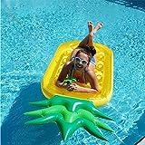 ZLYFA Aufblasbares Ananas-riesiges Pool-Schwimmen-Spiel der Aufblasbaren Ananas-190C Schwimmen...