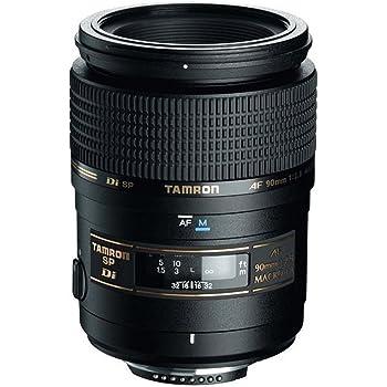 Tamron SP AF 90mm F/2.8 Di MACRO Lens for Nikon Camera (Black)