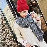 ZBYLL Frauen Schal Oversize Winter grau weiblichen Quaste Karierten Schal Schals Frauen Breiten Gittern Lange Schal Wickeln Decke