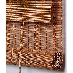 Persiana de Bambú marrón claro, 90 x 120 cm