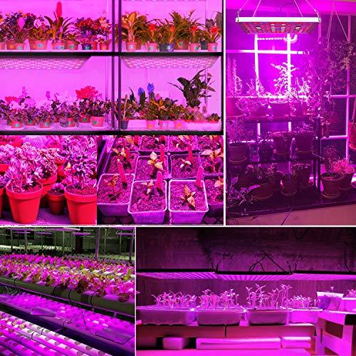 Pflanzenlampe 75W TOPLANET, Aktualisieren Reflektor Led Grow Light Panel mit IR Rot Blau Licht für Gewächshaus Hydroponik Grow Box Veg Wachstum - 5
