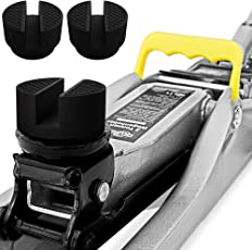 Deuba® 3x Gummiauflage Wagenheber mit Stahlverstärkung | universell einsetzbar | für alle gängigen Modelle | Rutschfest | Rangierwagenheber Hebebühne - Mengenauswahl