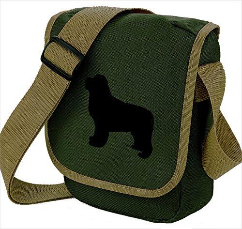 Bag Pixie - Borsa a tracolla unisex adulti Black Dog Olive Bag