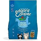 Edgard & Cooper Pienso Gatos Seniores Esterilizados o Activos Comida Seca Natural Sin Cereales 1.75kg Pollo y Salmon Frescos,