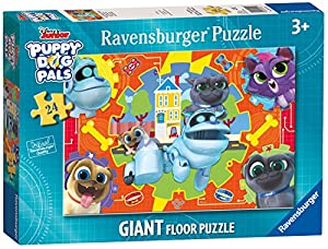 Ravensburger Disney Puppy Dog Pals - Puzzle Gigante de 24 Piezas