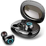 Auricolari Bluetooth, Rinsmola Cuffie Bluetooth Senza Fili Ultraleggero Riduzione del Rumore Hi-Fi Stereo Auricolari Wireless