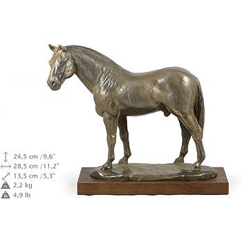 Skulptur Figur Bronze liegendes Pferd Antik Stil