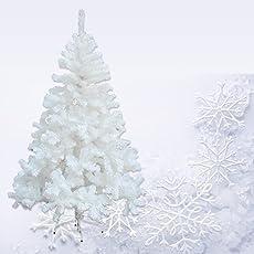 HG® Weihnachtsbaum Tannenbaum Tanne Zweige Dekobaum mit Metallständer natur schwer entflammbar sehr schneller
