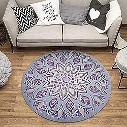 Alfombra De Diseño redonda moderna Varios diámetros. Desde 80 cm
