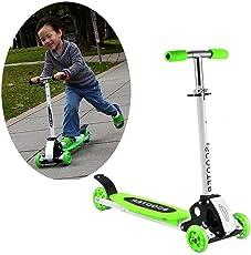 Kinder Scooter Kickboard Cityroller Klappbar Roller ab 3 Jahren,Verstellbar Kinderroller Tretroller Kinderscooter Belastbarkeit bis 50 kg