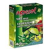 Premium Langzeitdünger für 100 Tage - Strauchdünger, Laubbaumdünger für alle Ziersträucher und Ziergehölze 1,5Kg für 40 Pflanzen