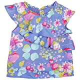 NeedyBee Baby Girls Clothes Blue Printed...