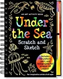 Under the Sea Scratch Scratch & Sketch: An Art Activity Book for Imaginative Artists of All Ages (Scratch and Sketch) by Heather Zschock(2005-06-01)