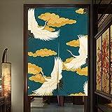 Pueri Rideaux Japonais Rideau Voilage Fenêtre Noren Rideau de Porte Panneau Tenture...