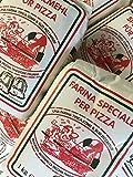 2 Packungen a 1,0 Kg Pizzamehl vom Shop-of-Wonder Weizenmehl Mehl für Pizza Typ 00 geeignet für die Zubereitung von Pizza, Pizzabrötchen und Ciabatta