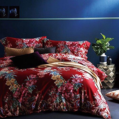 Kexinfan Bettbezug Bettwäsche Queen King Size Bettwäsche 100% Baumwolle Bettbezug, B 3015,175 X 210 cm Double Einstellen