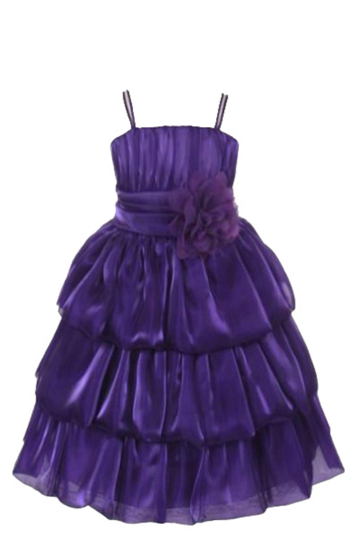 2cf7a8a31 SOFYANA Baby - Girl's Netted Princess Gown Birthday Party Wear Frock ...