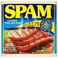 Correo no deseado de cerdo picada y jamón 340g (paquete de 6 x 340g)