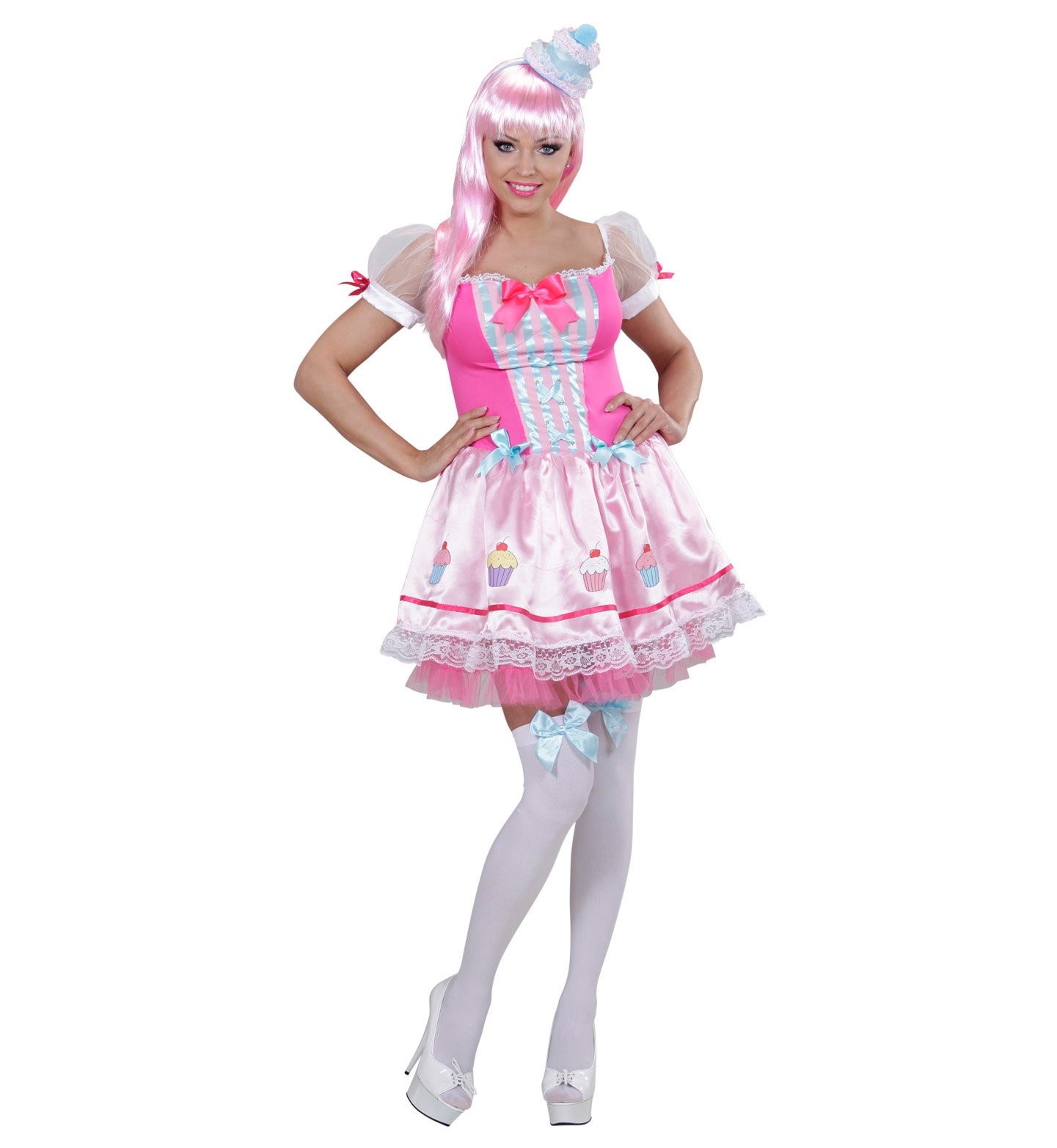 WIDMANN Sancto Disfraz Chica Cupcake Carnaval