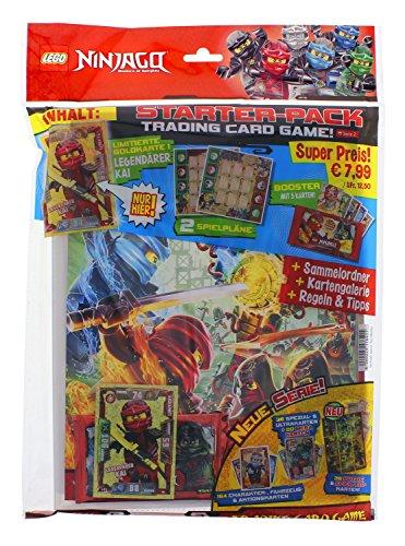 Top Media 176401 Sammelkarten LEGO Ninjago Serie II Starterpack