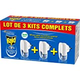 Raid Elektrische geurvloeistof tegen muggen, 3 sets