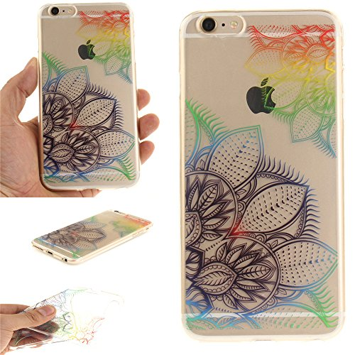Nutbro iPhone 7 Case Cover, iPhone 7 Case Clear Case, IMD Design Pretty Pattern Ultra Thin Transparent Shock-Absorption Protective Bumper Flexible TPU Gel Shell Cover TPU-TX-iPhone-7-52