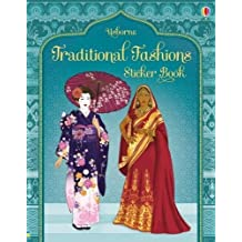 Traditional Costumes from Around the World Sticker Book